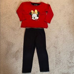 Gap Outfit Size 3 Years (Top & Leggings)